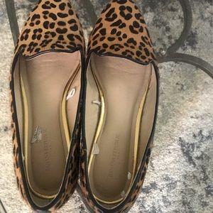 Banana Republic leopard hair print flats size 8